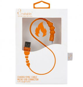 Grommet Snakable charge cable