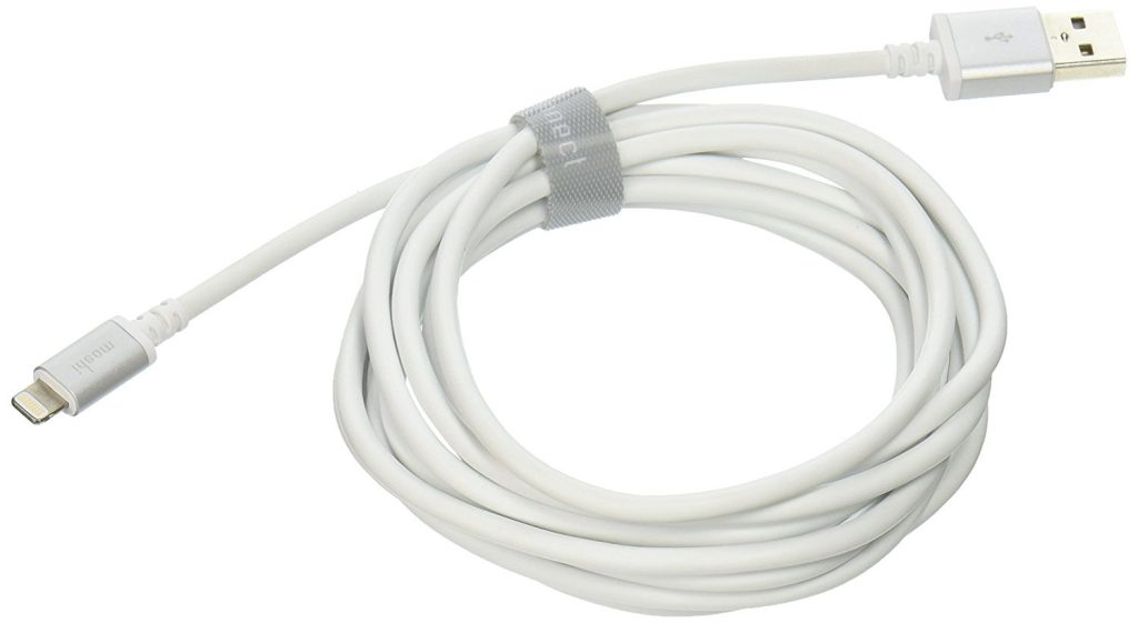 Moshi charging Cable White