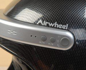 AirwheelC5 smart helmet controls left