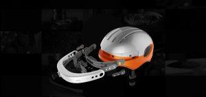AirwheelC5 smart helmet disassembled