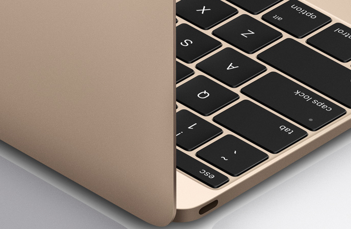 """12"""" Macbook USB-C Port"""