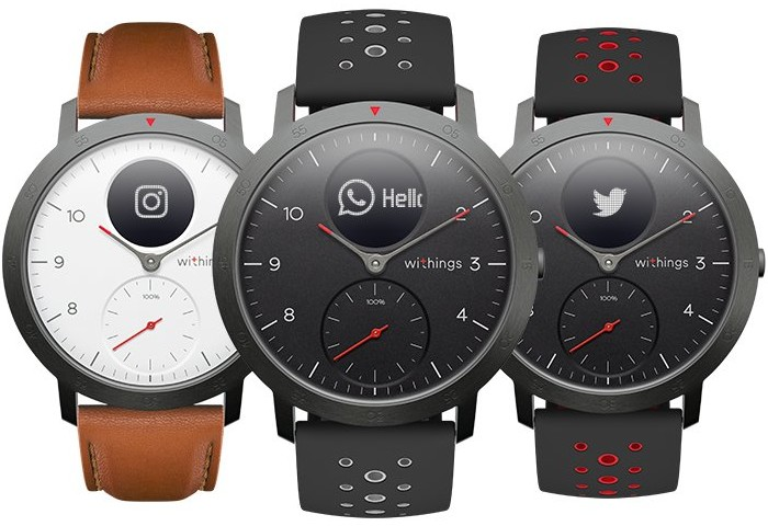 Withings Steel HR Sport Hybrid Smartwatch